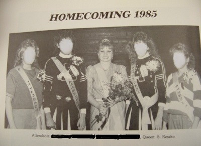 Sue Reszko Antigo Homecoming Queen 1985
