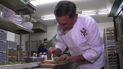 Fmr White House chef Walter Scheib